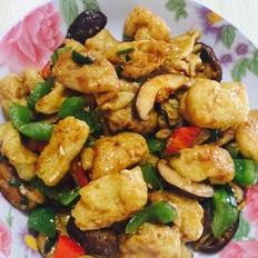 鲜菇油豆腐