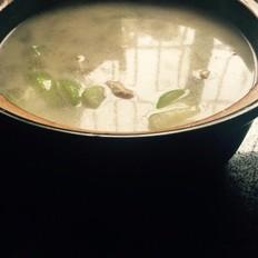 柴鱼节瓜肉片汤