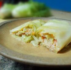 清蒸翡翠白菜卷——好吃易做营养丰富