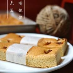 养生红糖桂圆蛋糕条