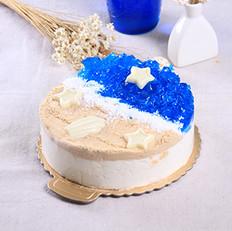 海洋蛋糕的做法