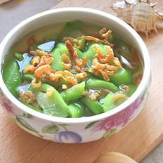 海米丝瓜汤