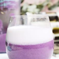 紫薯厚牛奶