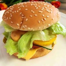 快手营养早餐——金枪鱼汉堡