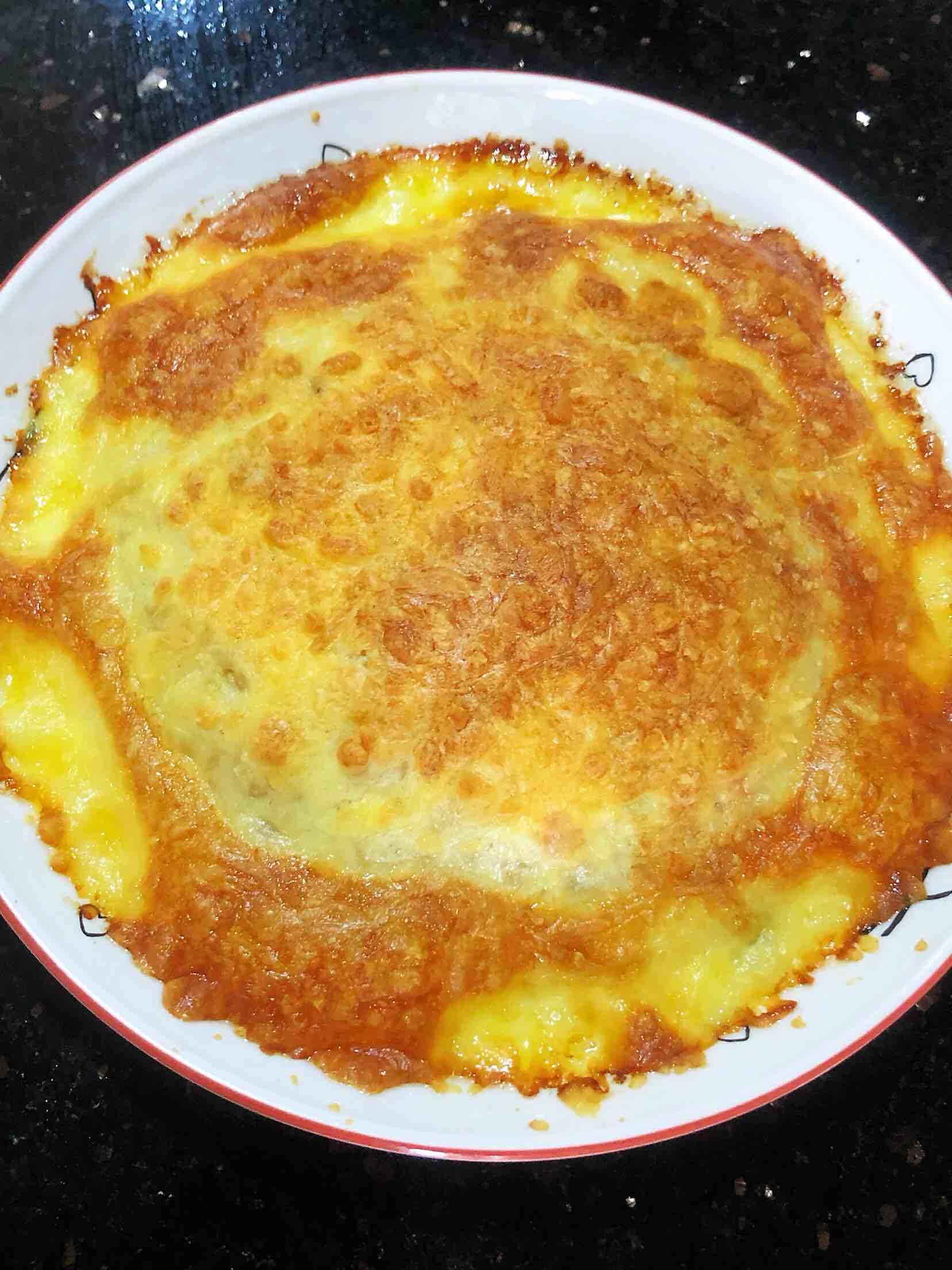 奶酪焗黑椒饭的做法