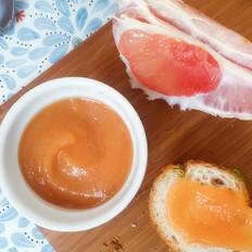蜂蜜柠檬红柚果泥