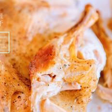 纸皮烤鸡的做法