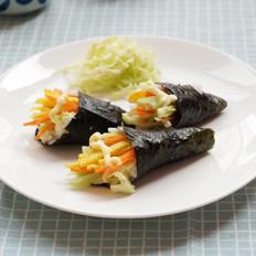 丘比-手卷寿司的做法