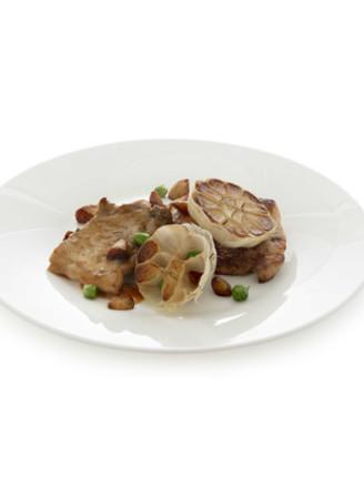丘比-蒜香煎猪排的做法