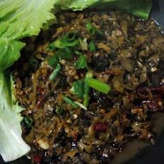 干锅盐菜螺丝肉