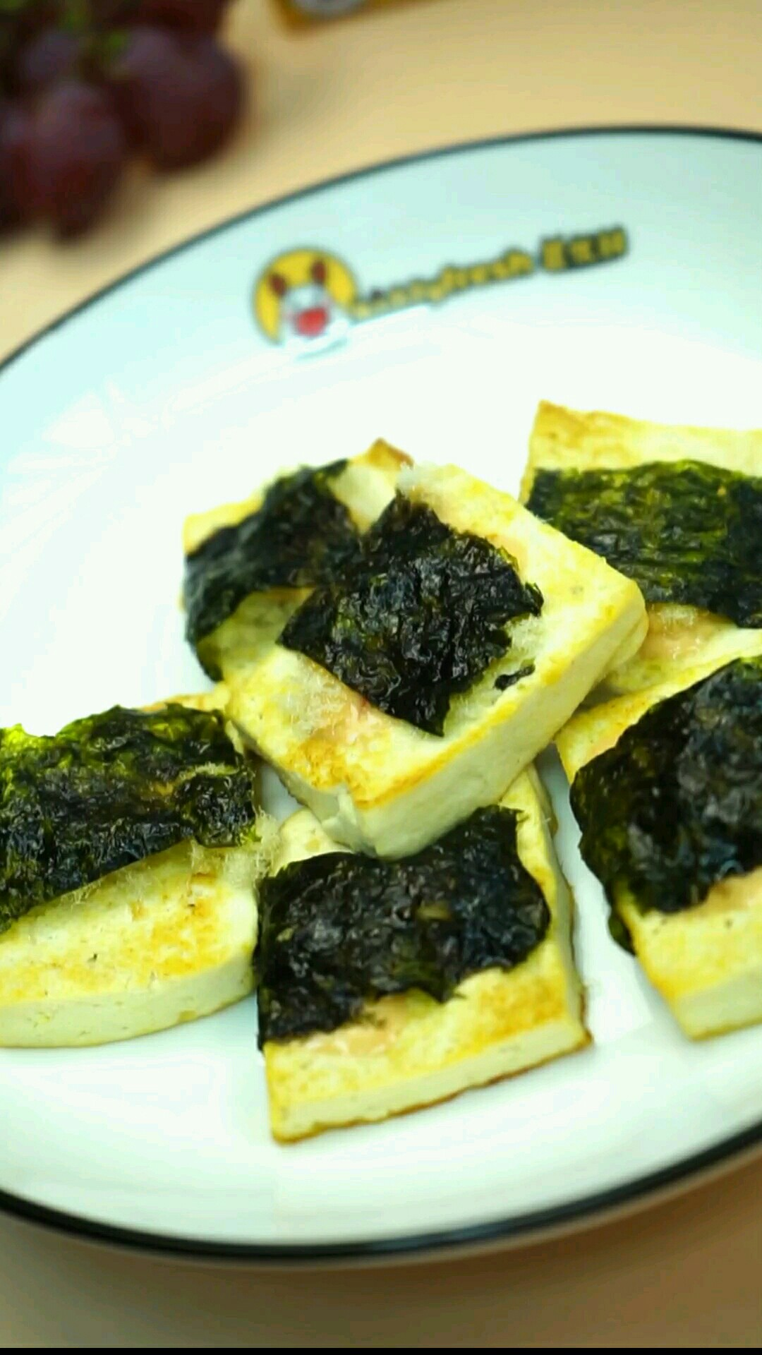鱼松海苔脆豆腐