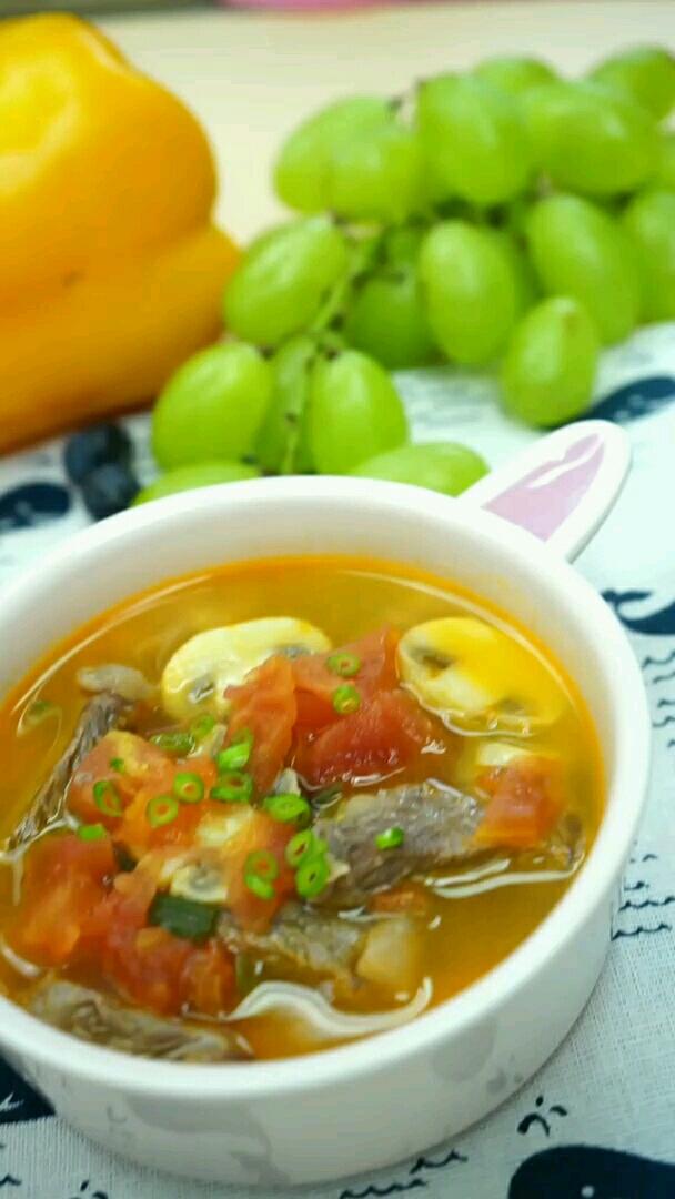 番茄牛小排汤