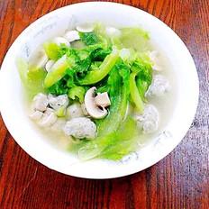 时蔬鱼丸汤