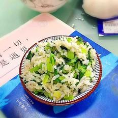 芥菜炒米饭