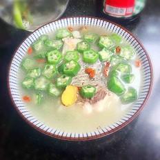 秋葵鱼尾汤