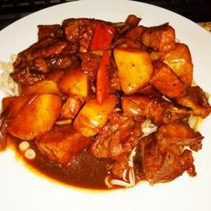 新式餐饮-土豆烧排骨