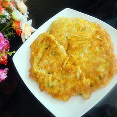 雪虾炒鸡蛋