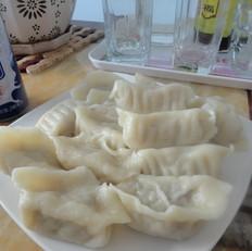 白菜猪肉煮饺