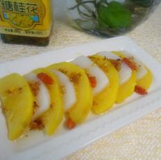 红薯桂花年糕