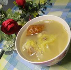 白菜鸭架汤