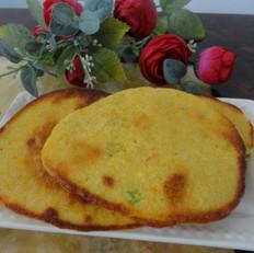 葱香玉米饼
