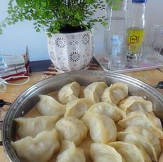 白菜蒸饺子的做法