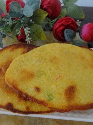 蔥香玉米餅的做法