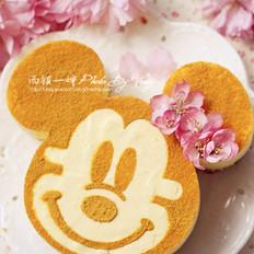 花朵米妮蛋糕