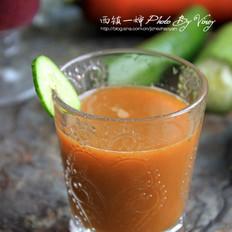 胡萝卜西瓜汁的做法