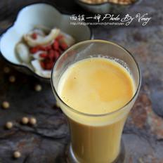 百合枸杞豆浆
