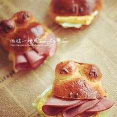青蛙三明治