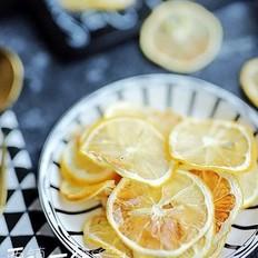 空气炸锅版自制柠檬干