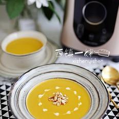 浓香红薯火腿浓汤的做法