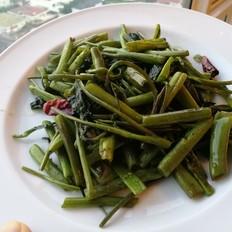 干椒空心菜