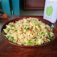 #轻养一罐鲜米#杏鲍菇蛋炒饭