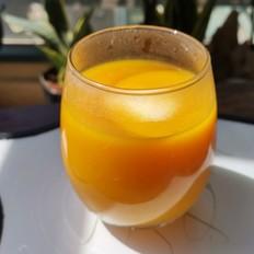 酸奶南瓜汁
