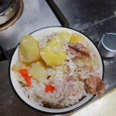 猪肉土豆菜饭一锅出