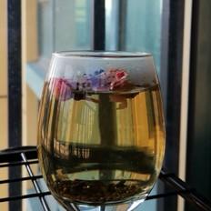 玫瑰花决明子茶