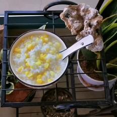 水果玉米粥