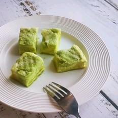 菠菜斑马纹蛋糕