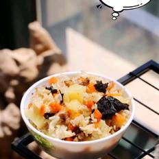 胚芽米土豆牛肉焖饭