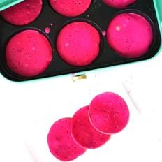火龙果酸奶软饼
