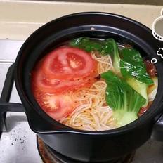 番茄酸汤面