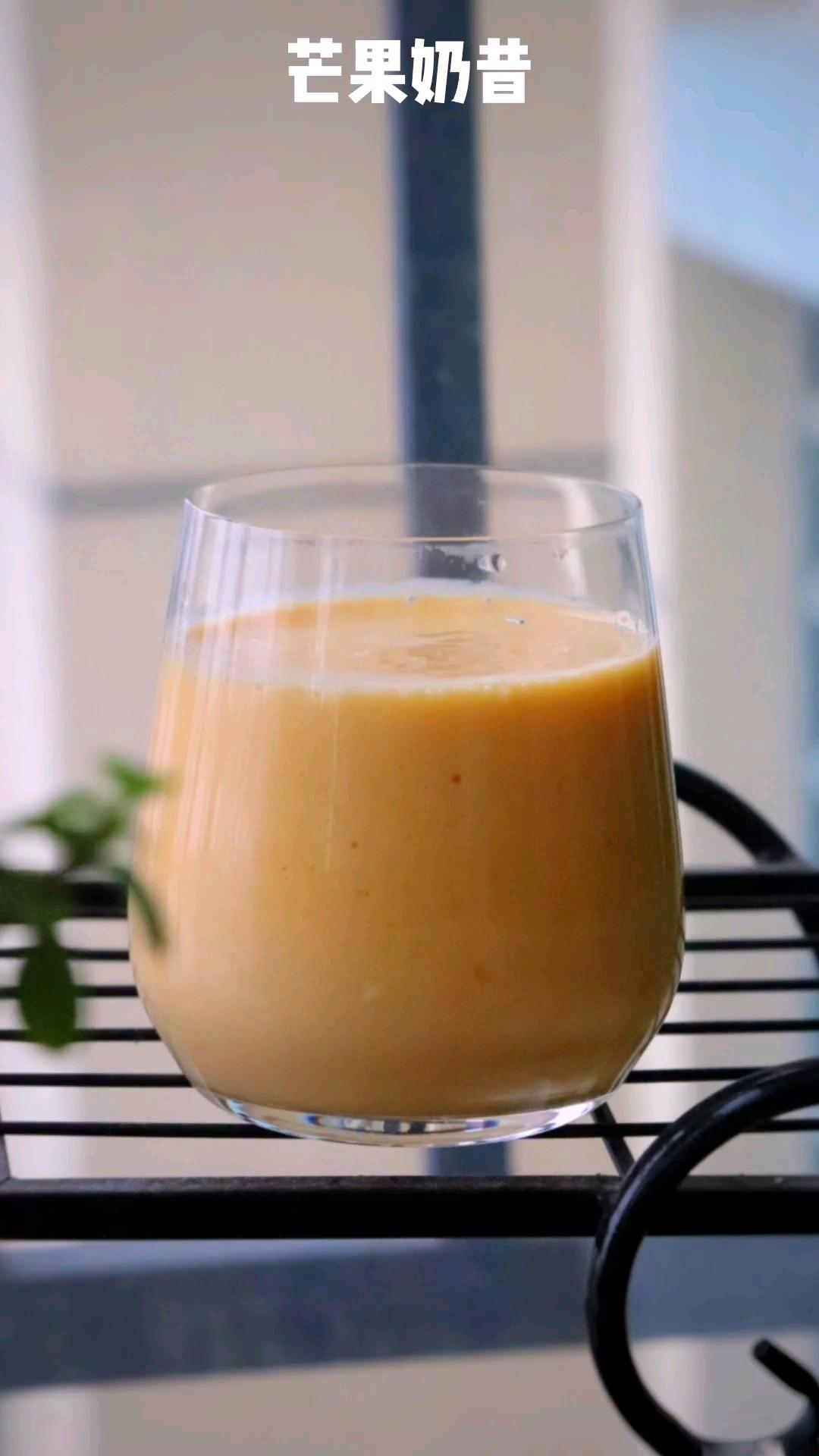 芒果牛奶奶昔