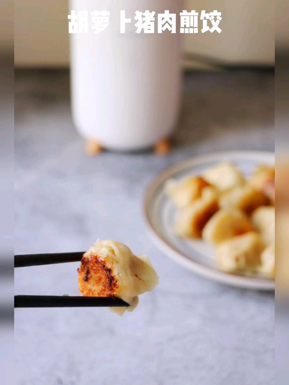 胡萝卜猪肉煎饺