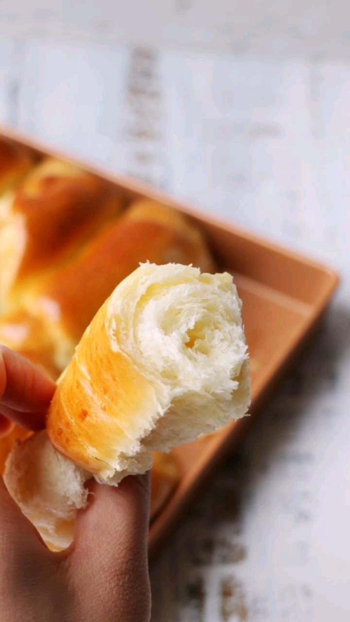 奶香排包的做法