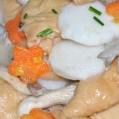 豆腐果炒山药