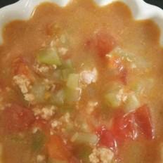西红柿鸡肉汤