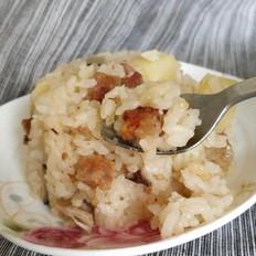 洋葱土豆腊肠饭