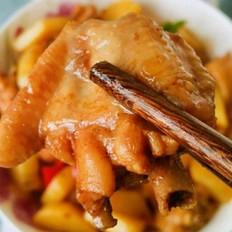 土豆炒鸡翅